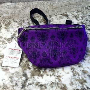 Loungefly Haunted Mansion Wallpaper Fanny Hip Pack